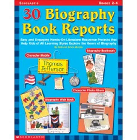 Parts of a book report elementary